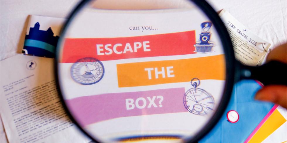 Escape the Box and materials