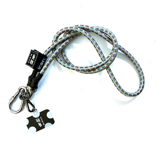 SCANFC bungee mobile strap with phone tag                     (Be Brave勇敢)