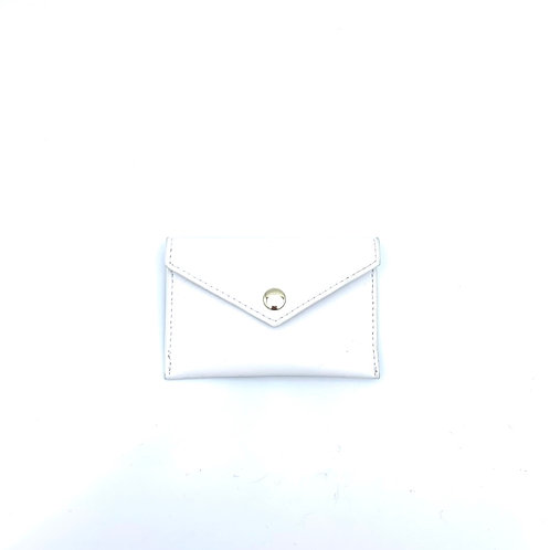 Detachable card pouch white colour