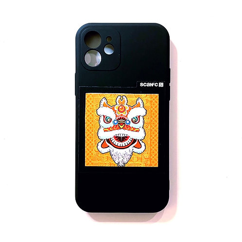 iPhone case with CNY Patech(Lion)