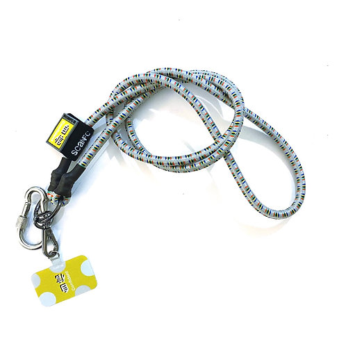 SCANFC bungee mobile strap with phone tag(Confident自信)