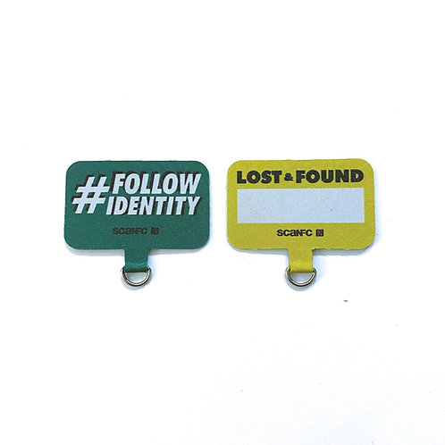 Connected Cell phone lanyard pad (Lost&Found)