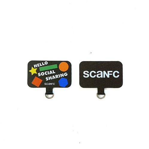 Mobile Phone Tag (Hello Social Sharing/Scanfc)