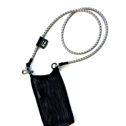 SCANFC BUNGEE STRAP WITH NET BAG(Be Brave勇敢)