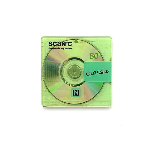 80's Disc printed coaster (Classic music)