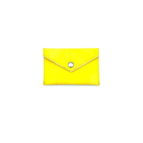 Detachable card pouch Yellow colour