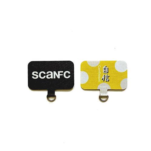 Mobile phone tag                                       (Confident自信)