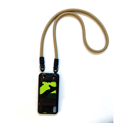 Phone strap rope light brown (Long)
