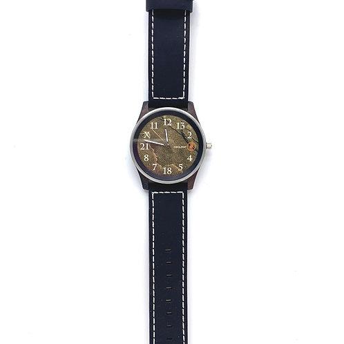 CoolPop x 木表Wooden watch (Number)