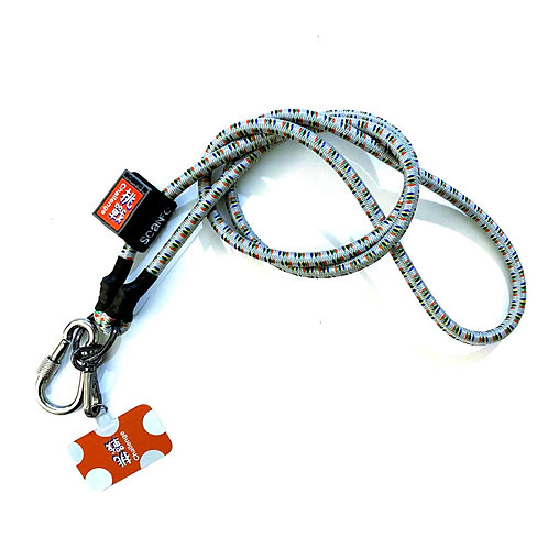 SCANFC Bungee mobile strap with phone tag(Challenge挑戰)