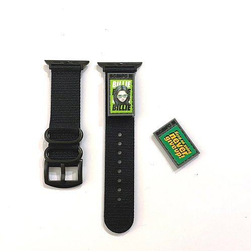Patech mini with watch band(never give up)