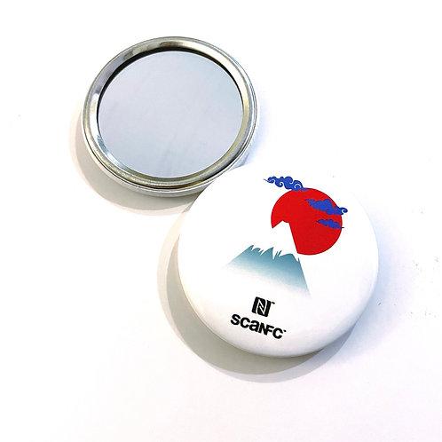 Mirror badge (Mount FUJI)