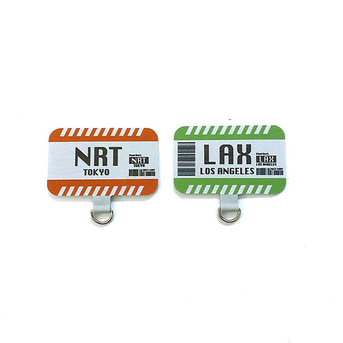 Connected Cell phone lanyard pad (NRT/LAX)