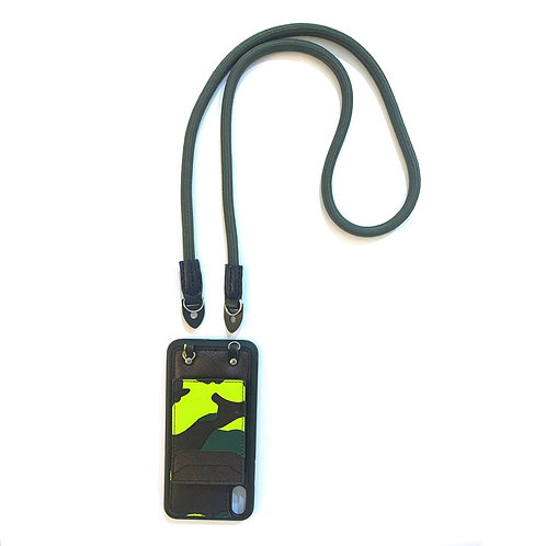 Phone strap rope army green (Long)