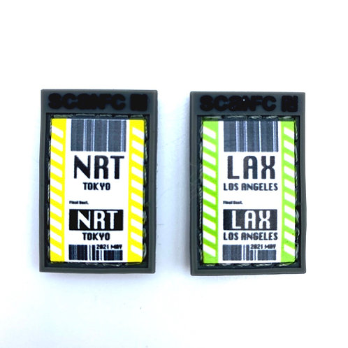 Patech™️ Mini set (Travel ticket)