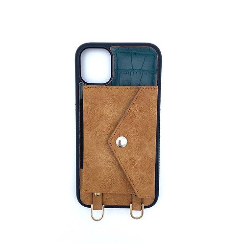Leather combined fashion case set