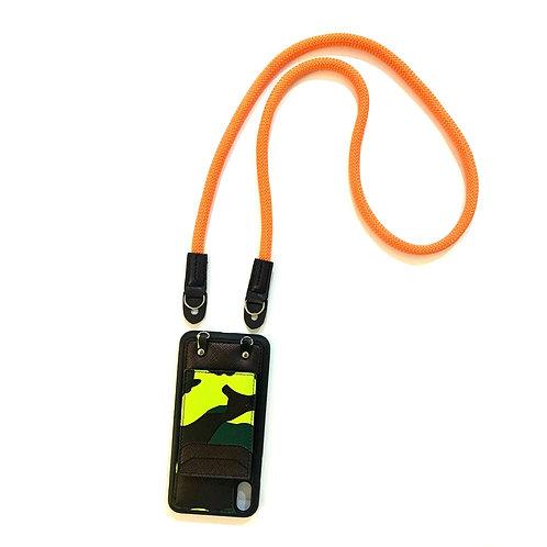 Phone strap rope orange (Long)