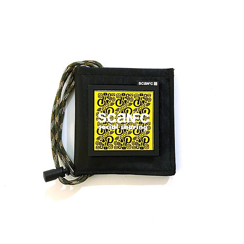 Pouch with #Socialsharing Patech (SCANFC)