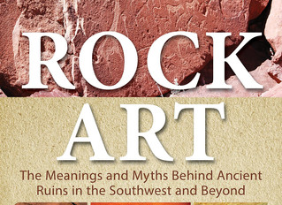 ROCK ART: My Newest Book Released!      #1 Bestseller in Mythology and Folklore