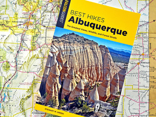 NEW BOOK! Best Hikes Albuquerque Now Available from Falcon Guides