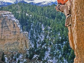 Climbing Colorado Choss at Williams Canyon