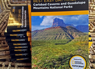 My New Book! BEST EASY DAY HIKES CARLSBAD CAVERNS & GUADALUPE MOUNTAINS NATIONAL PARKS