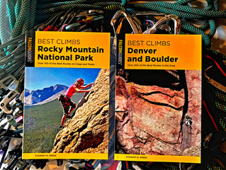 NEW Editions of Best Climbs Rocky Mountain National Park and Best Climbs Denver and Boulder