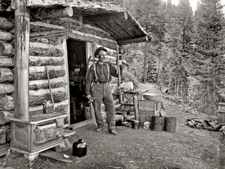 A Pikes Peak Prospector Photograph by William Henry Jackson