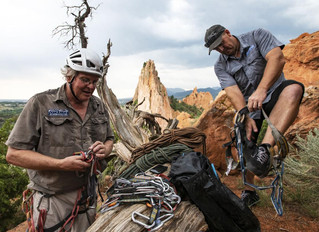 Garden of the Gods with a New View: Gazette Newpaper Article