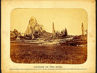 What is the Oldest Photo of the Garden of the Gods?