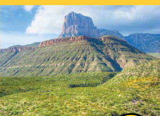 NEW BOOK! Best Easy Day Hikes Carlsbad Caverns and Guadalupe Mountains National Parks