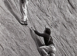 Climbing in the 1970s: Winter Days at the Garden of the Gods