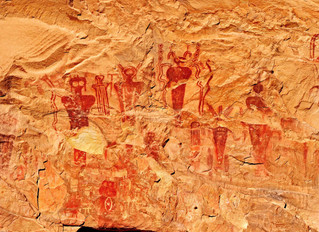 Pictographs at Sego Canyon: Whispered Stories from the Old Ones
