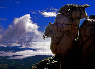 Dateline 1997: Climbing on Pikes Peak with Earl Wiggins