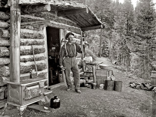 A Pikes Peak Prospector: 1900 photo by William Henry Jackson