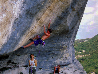 Climbing Chouca: Classic Hard French Route at Buoux