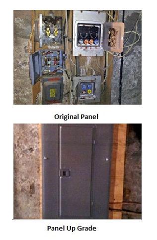 Panel Upgrade Original & New Panel