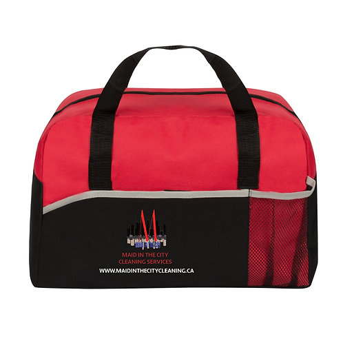 Energy Duffle Bag (RED) Maid In The City Cares Campaign