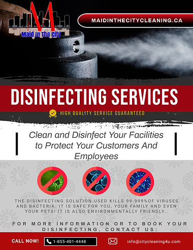 Copy of Disinfecting Services Business F