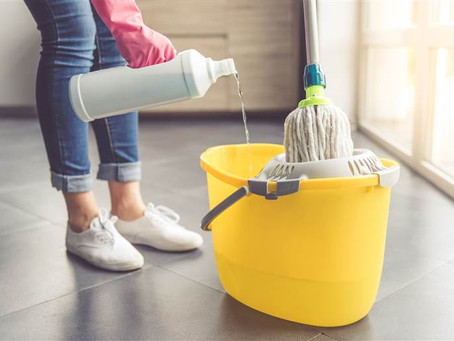 Using Traditional Cleaning Items