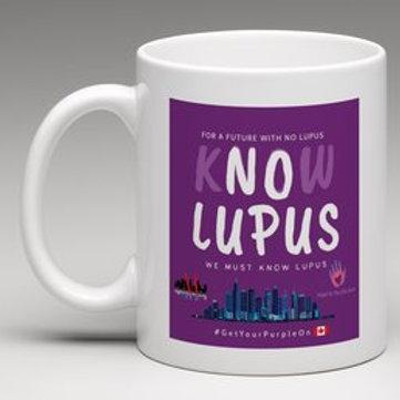 Know LUPUS Purple Awareness Mug