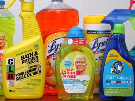Saving Money on Cleaning Products