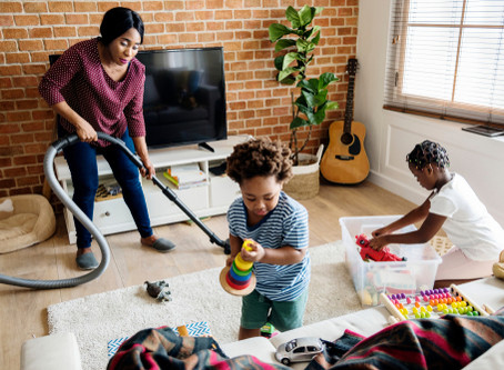 Household Chores to Help Your Child Grow