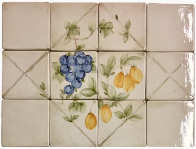 Diamond lattice panels