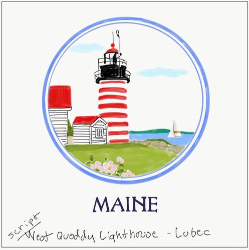 Coast of Maine Lighthouse