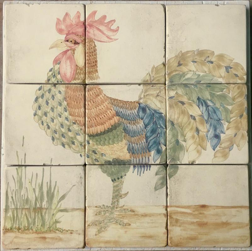 Rooster for a kitchen backsplash