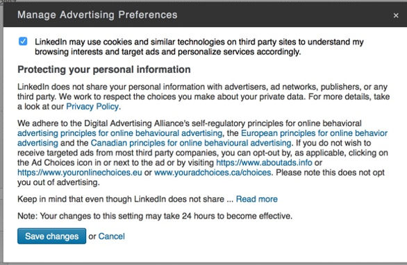 LINKEDIN AND THEIR 50 SHADES OF GREY