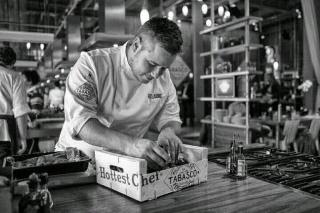 GUILLAUME DE BEER - THE HOTTEST CHEF COMPETITION