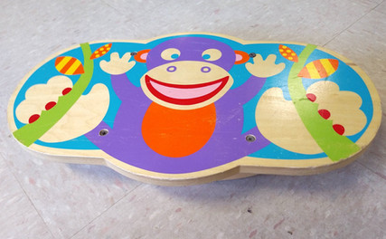 Shot of Alex Active monkey balance board
