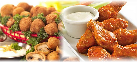 Jumbo Wings and Appetizers in Addison